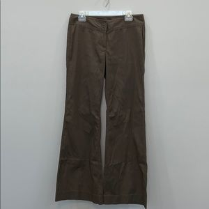 CAbi Brown Pants Flare Leg Size 8